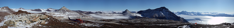 Mt Aztec Dry Valleys panorama a