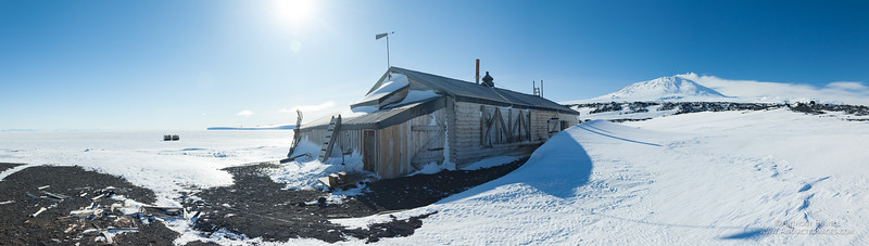 Cape Evans Hut Pano 1