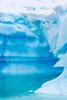 Water sculpted ice bergs in the Antarctic Peninsula.