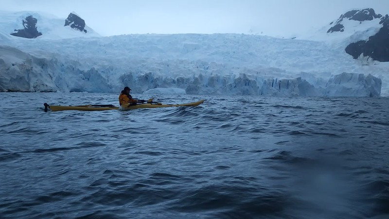 Phil Passing Astudillo Glacier (Video)