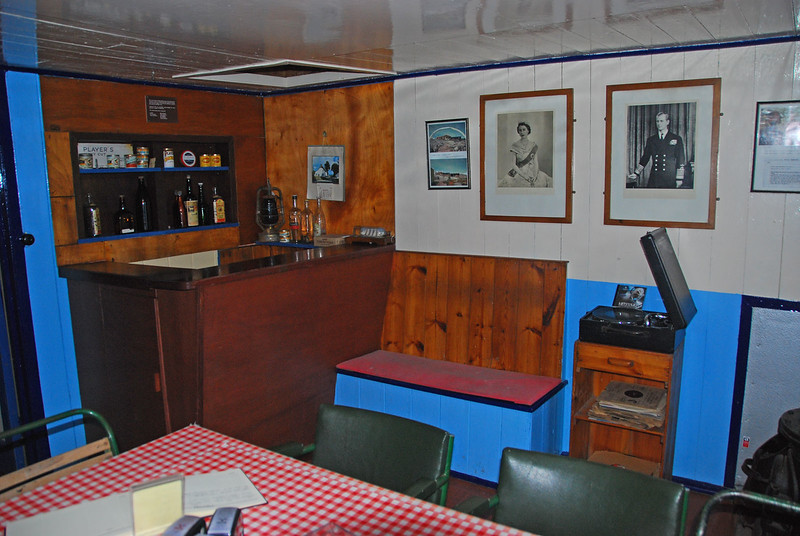 Port Lockroy Dining Room