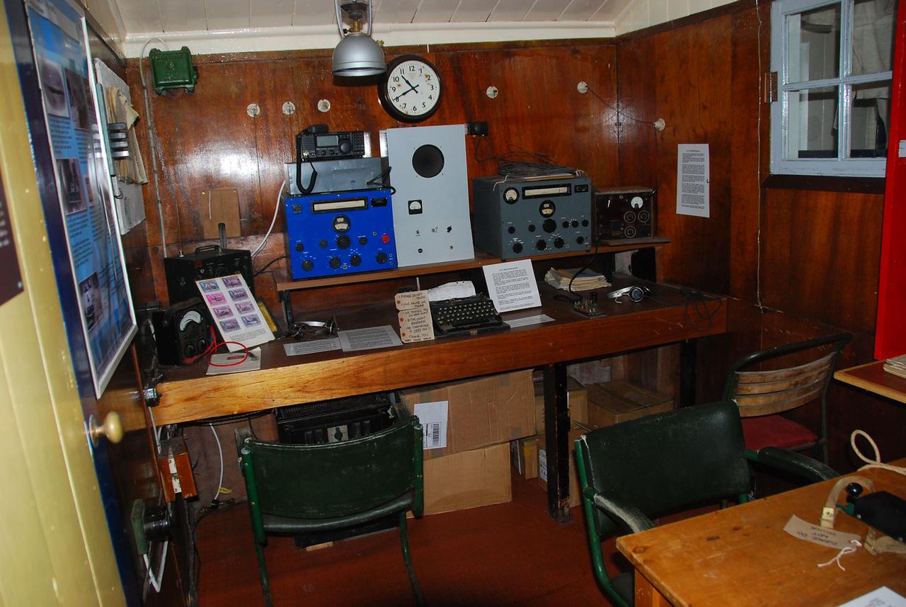 Port Lockroy Scientific Equipment
