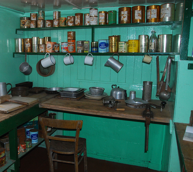 Port Lockroy Kitchen