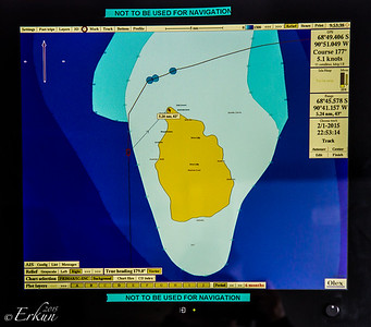 Peter I Øya on the Radar