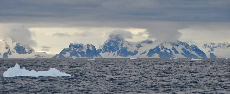 Last View of Antarctica