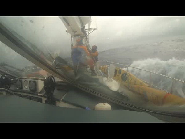 Setting the Sails in the Drake Passage