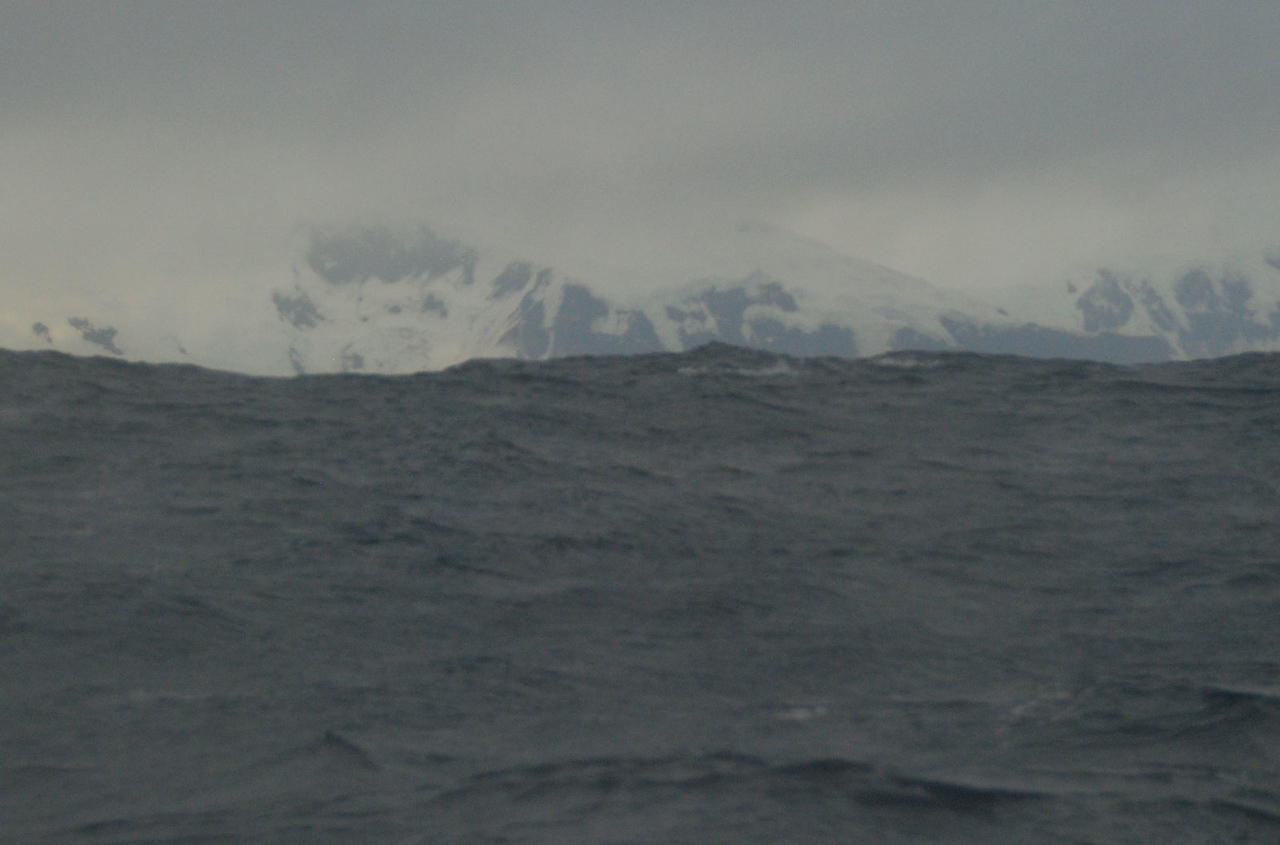First View of Antarctica