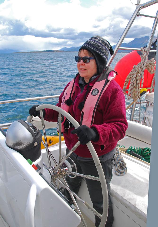 Ann at the Helm