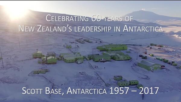 Scott Base 60th Anniversary Clip