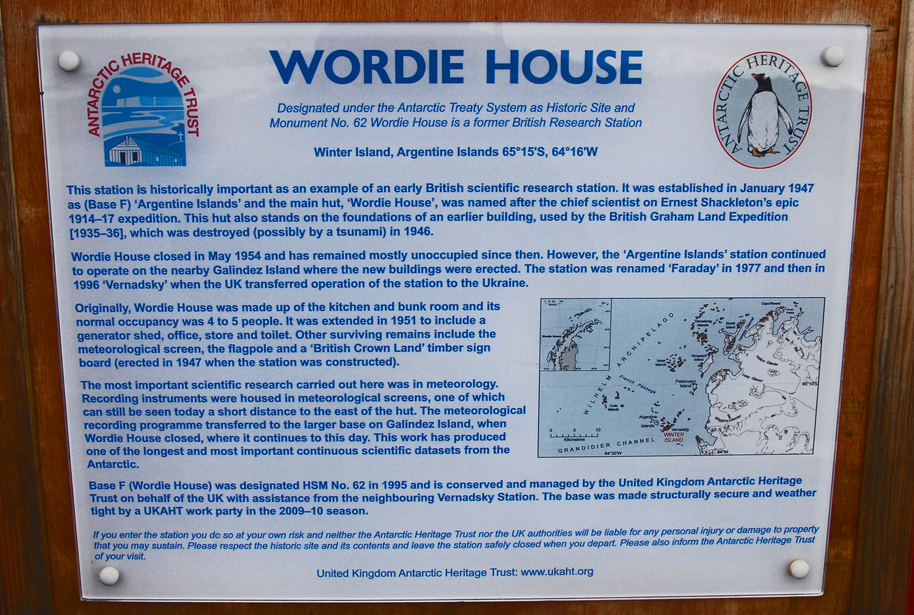 Wordie House History
