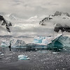 Iceberg and Glacier, Antarctica