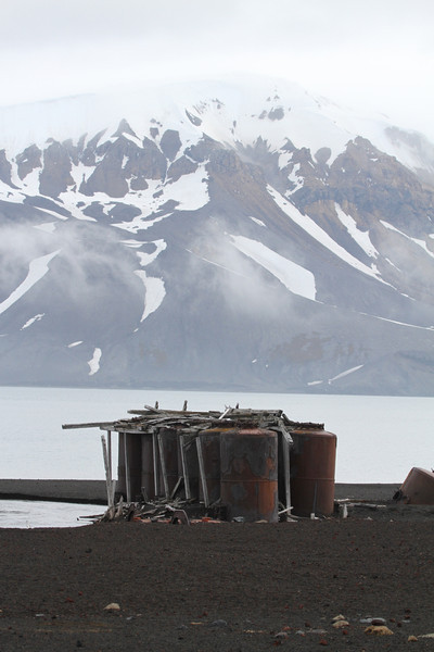 Ruins in Whaler's Bay on Deception Island