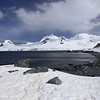 Half Moon Island, north of Burgas Peninsula of Livingston Island in the South Shetland Islands of the Antarctic Peninsula region.