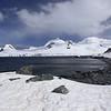 Half Moon Island, north of Burgas Peninsula of Livingston Island in the South Shetland Islands of the Antarctic Peninsula region.