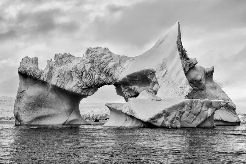 Dramatic Iceberg and Zodiac