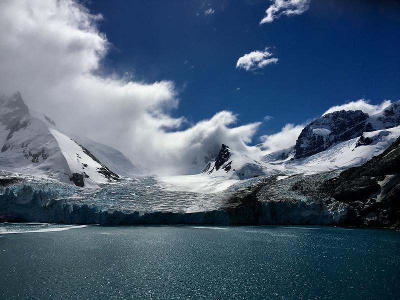 Edge of glacier - S. Georgia Island