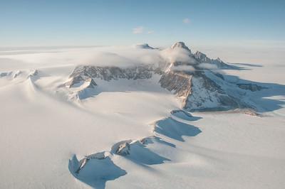 The Pirrit Hills, Polar Plateau, Antarctica