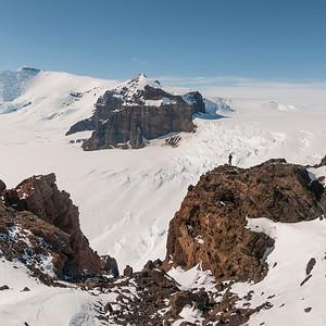 Mt Murphy, Marie Byrd Land, Antarctica