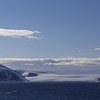Glacier on the Tabarin Peninsula west of Joinville Island.  3:30 AM.  Antarctic Peninsula.