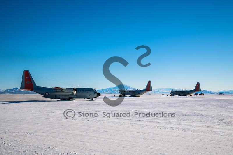 LC-130's Arrive
