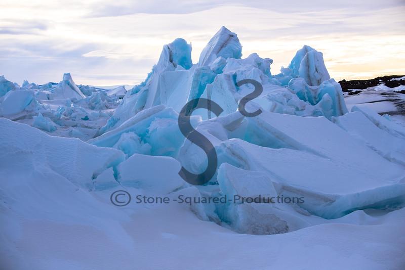 Frozen Water Under Pressure!