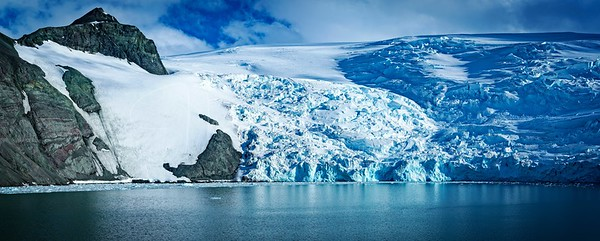 Admiralty Bay glacier