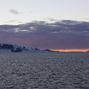 In the Antarctic Sound @ midnight.  Between Tabarin Peninsula and Joinville Island.  Antarctic Peninsula.
