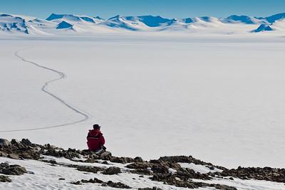 "Contemplating Union Glacier: ""a river of ice"""