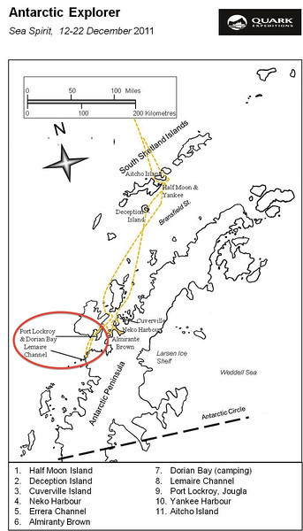 (5) 20111212 Route Map Port Lockroy Le Marie Channel