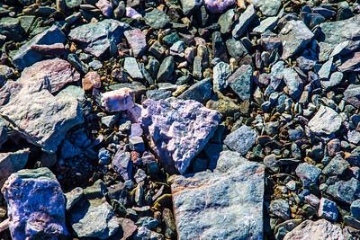 The amazing colors of rocks near Union Glacier deep inside Antarctica