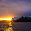 Jan. 31, 2015 - Deception Island.  Our first stop and my very first sunset in Antarctica.