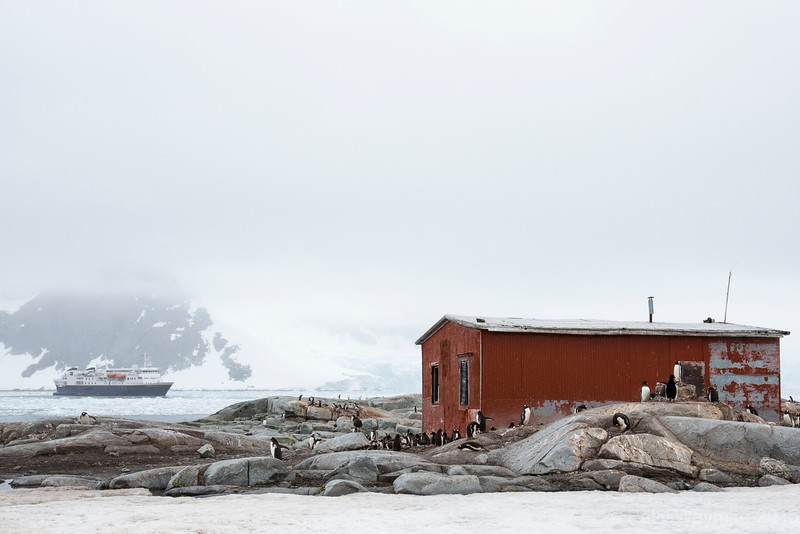 Peterman Island - Argentina research hut - February 2, 2015
