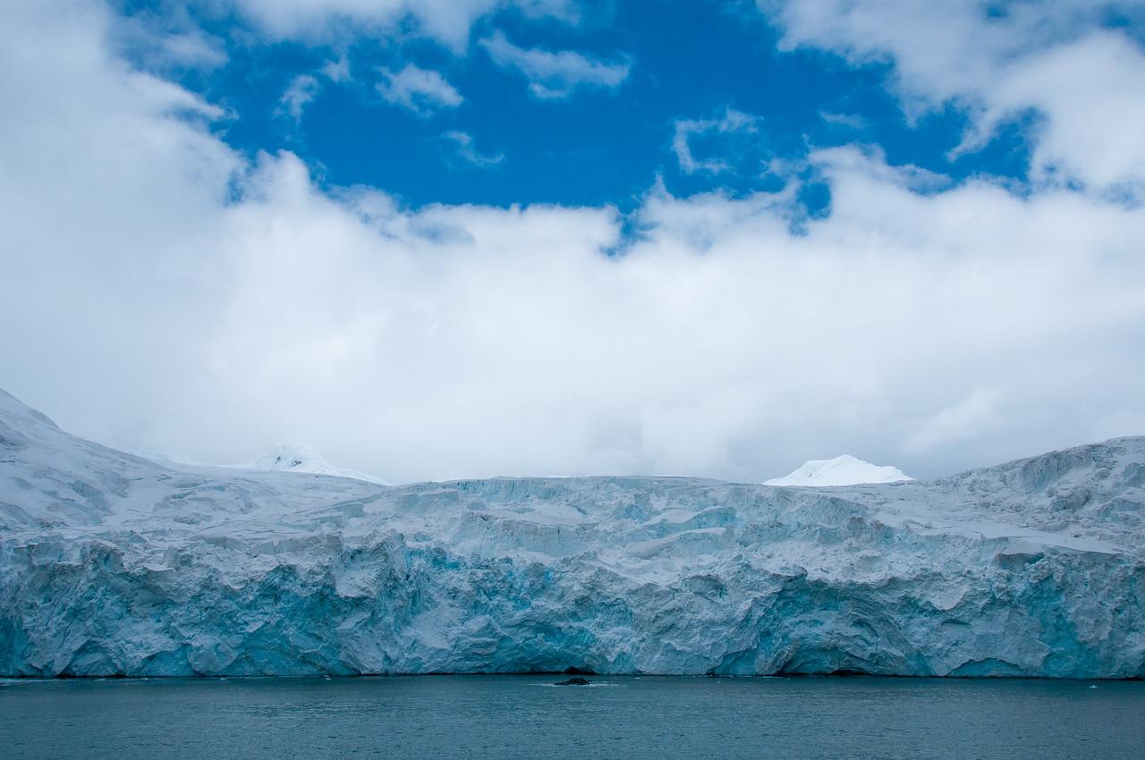 Glacier near Elephant Island, Antarctica