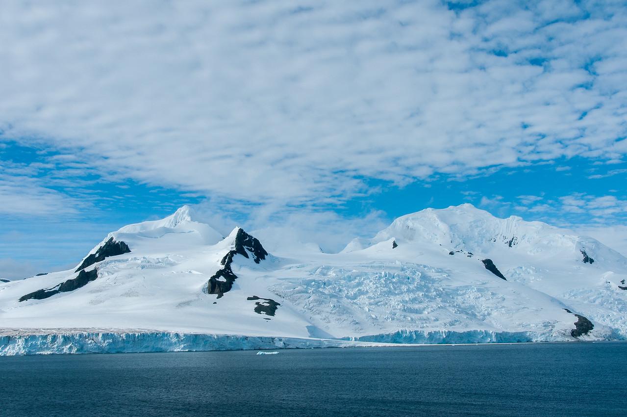 Half Moon Island in Antarctica