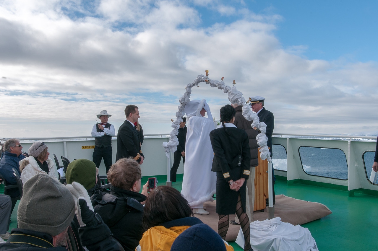Wedding in the Lemaire Channel