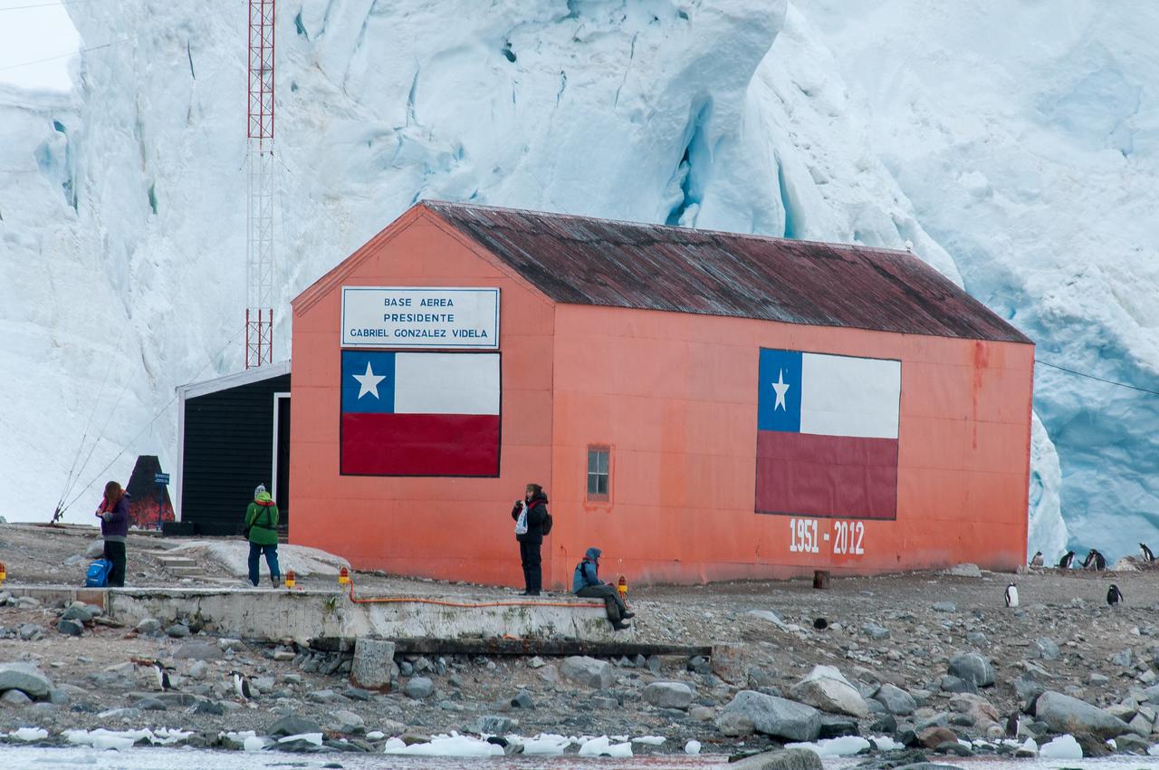 Brown Station, Paradise Bay, Antarctica