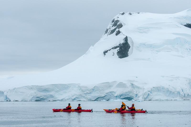 Kayaking in Paradise Bay