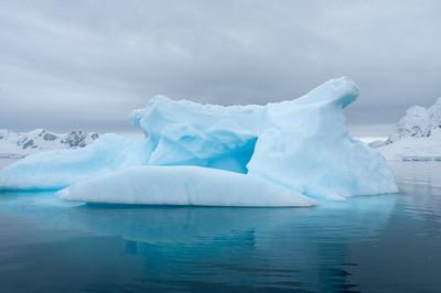Iceberg in Paradise Bay, Antarctica