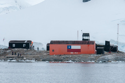 Brown Station, Paradise Bay, Antarctica