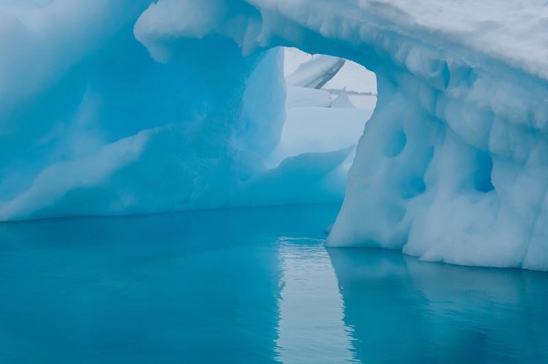 Iceberg in Paradise Bay in Antarctica