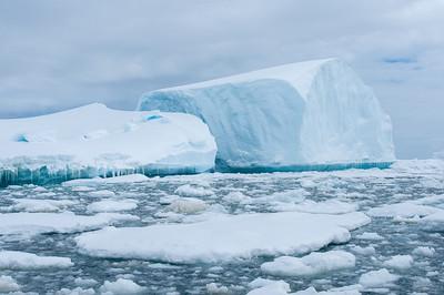 Iceberg in Pleneau Bay, Antarctica