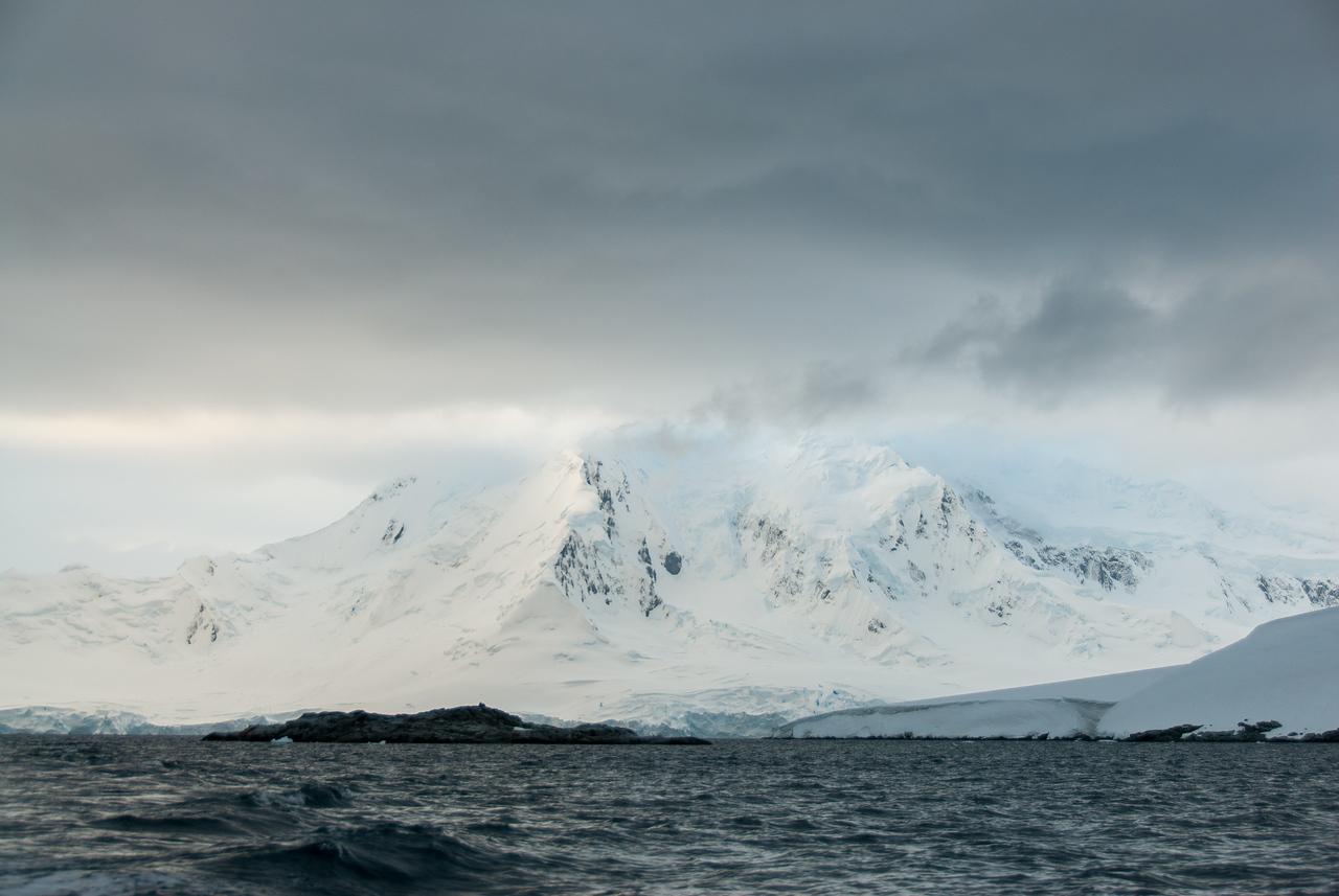 View from Port Lockroy in Antarctica