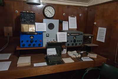 Inside former British base in Port Lockroy