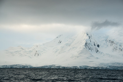 View from Port Lockroy in Antarctica