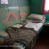 Typical sleeping area of mid-20th century British Antarctic explorer - Port Lockroy museum