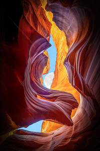 Luna Angel: Upper Antelope Canyon