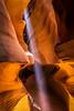 """""""Light Beam in Upper Antelope Canyon"""""""