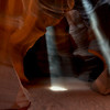 Light Beams - Navajo Antelope Canyon - Paige, AZ
