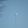 The Antenna here is a single, 160 meter Doublet.