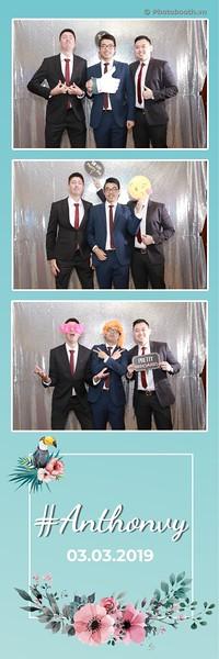 Anthony & Vy wedding instant print photobooth - Chụp hình in ảnh lấy ngay Tiệc cưới - Photobooth Vietnam